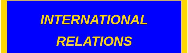 Is international relations a lucrative courses in Nigeria in 2021