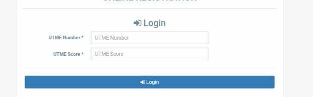 Bayero University Kano Post UTME registration portal