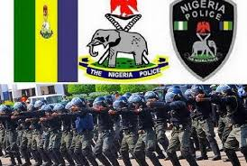 Nigeria Police Force Physical screening or training.