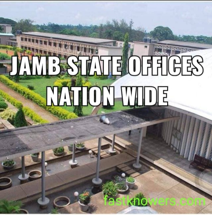 JAMB Head Offices: National Head, Liaison Offices and State Offices In Nigeria