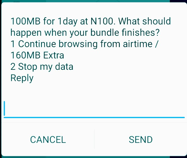 How to subscribe for N100 data bundle on Airtel network