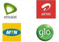 Customer Care number of MTN, Airtel, Etisalat and Glo network.