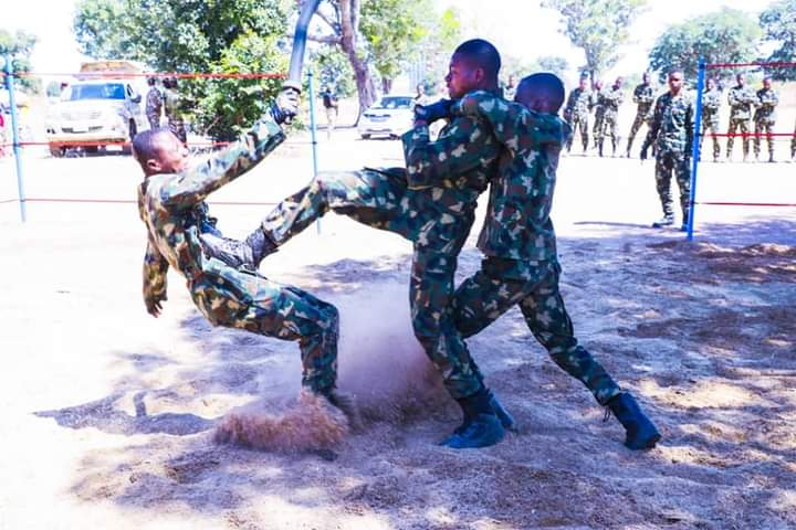 What to do before going to the training venue of Nigerian Air Force
